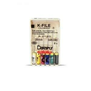 Lima Tipo Kerr 2 Serie 25MM 6 UN Maillefer - Dentslpy