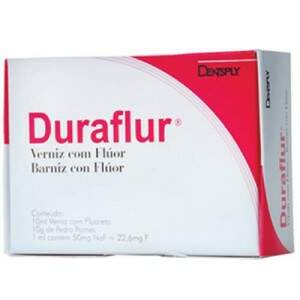 Verniz Fluoretado Duraflur - Kit C/10ML - Dentsply