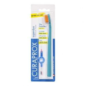 Escova Dental Curaprox 5460 Super Duo - Ultra Soft
