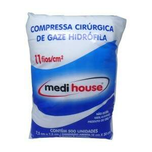 Compressa de Gaze Medi House 11 fios - Medi House