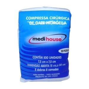 Compressa de Gaze Medi House 13 fios - Medi House
