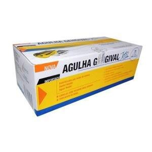 Agulha Gengival Jets 30G Extra Curta - Injecta