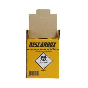 Coletor de Material Perfuro Cortante Descarbox Ecologic - Descarbox