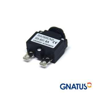 Interruptor Termico 8a 220v 50/60hz - Gnatus