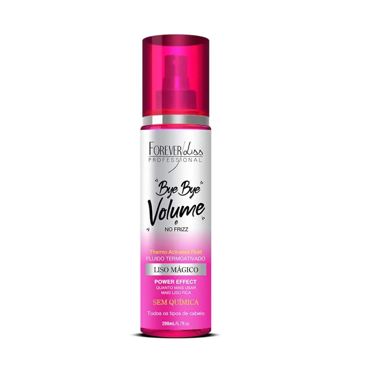 Kit Bye Bye Volume+Leave-in Magia de Unicórnio- Forever Liss