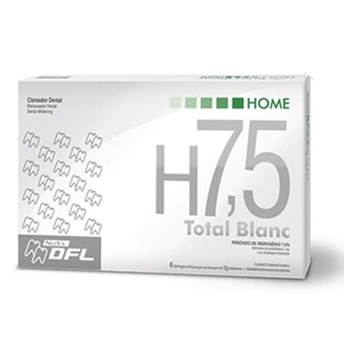 Kit Clareador Dental Total Blanc Home 7,5%