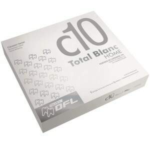 Kit Clareador Dental Total Blanc Home 10%  Grátis Moldeira para Clareamento