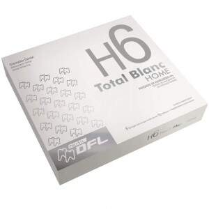 Kit Clareador Dental Total Blanc Home 6%  Grátis + 3 seringas de Total Blanc Home H7,5%