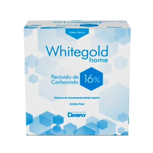 Kit Clareador Dental Whitegold 16%