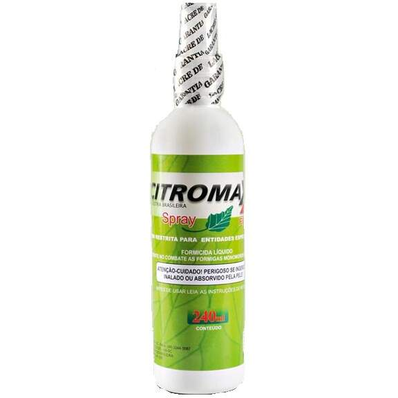 CITROMAX SPRAY FORMICIDA (FIPRONIL) - 240ml