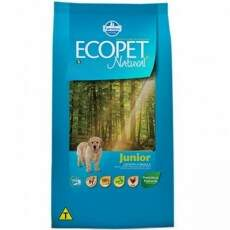 RAÇÃO ECOPET NATURAL JUNIOR - 15 KG