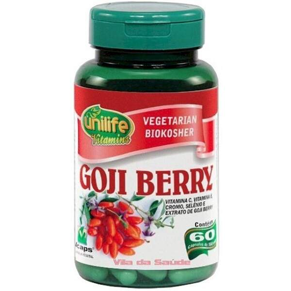 GOJI BERRY UNILIFE 500 mg - 60 cápsulas