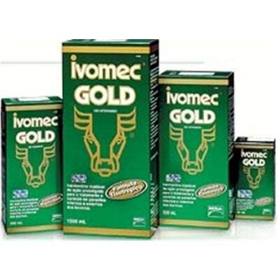 IVOMEC GOLD (IVERMECTINA) 3,15% INJETÁVEL - 500ml
