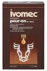 IVOMEC POUR ON (IVERMECTINA) 0,50% - 1Lt