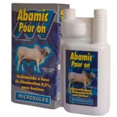 ABAMIC POUR ON (ABAMECTINA) 0,5% - 1Lt