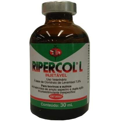 RIPERCOL L 7,5% INJETÁVEL - 30ml