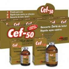 CEF-50 (CEFTIOFUR) INJETÁVEL - 30ml
