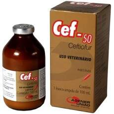 CEF-50 (CEFTIOFUR) INJETÁVEL - 100ml