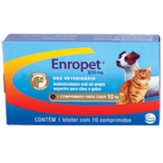 ENROPET 150mg - 10 comprimidos