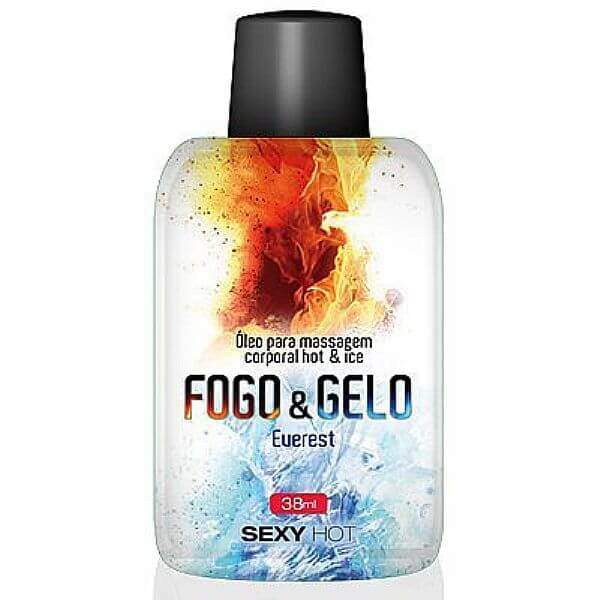 Gel para massagem/oral Fogo e Gelo - Everest