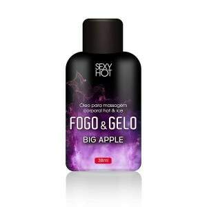 Gel para massagem/oral Fogo e Gelo - Big Apple