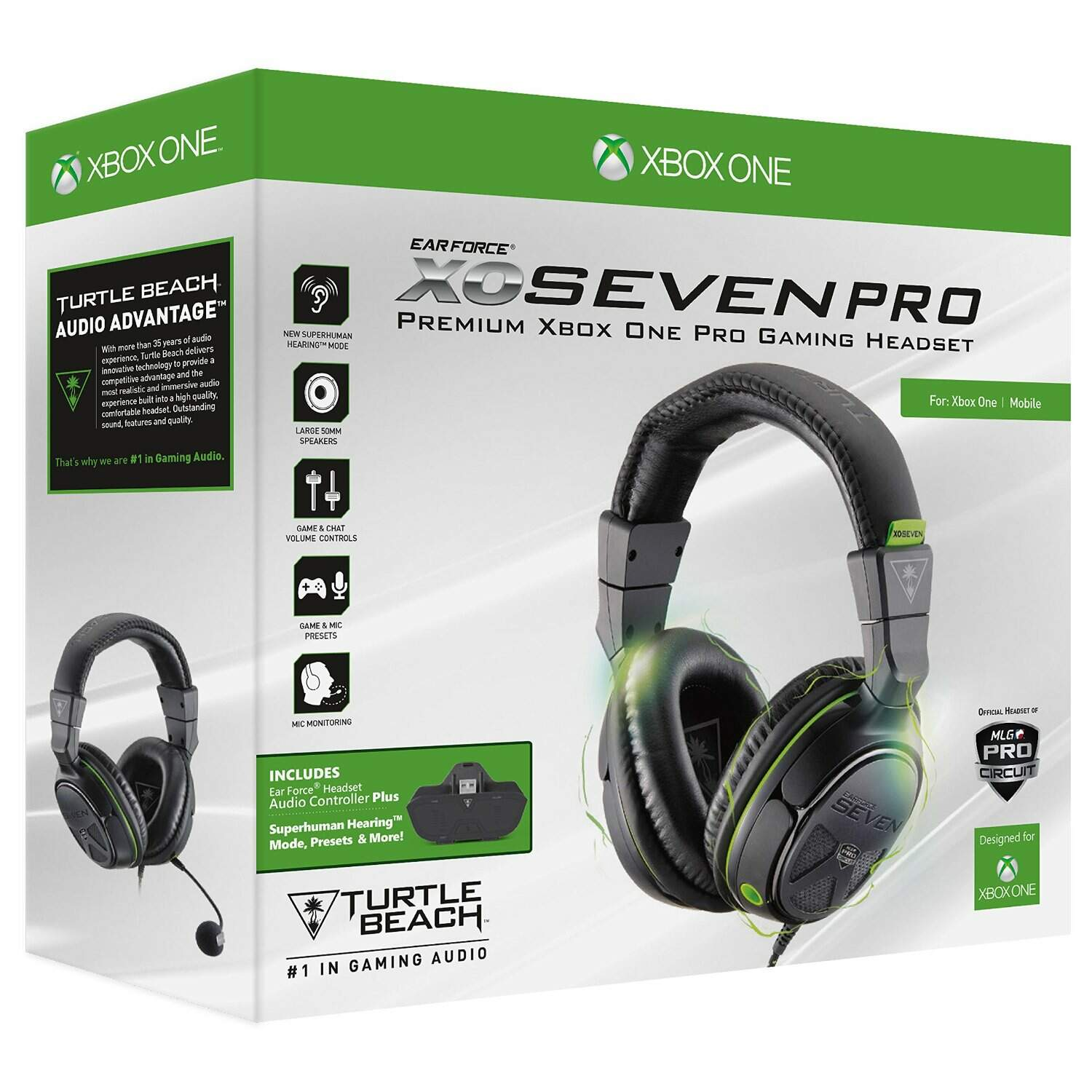 Headset Ear Force: XO Seven Pro - Turtle Beach