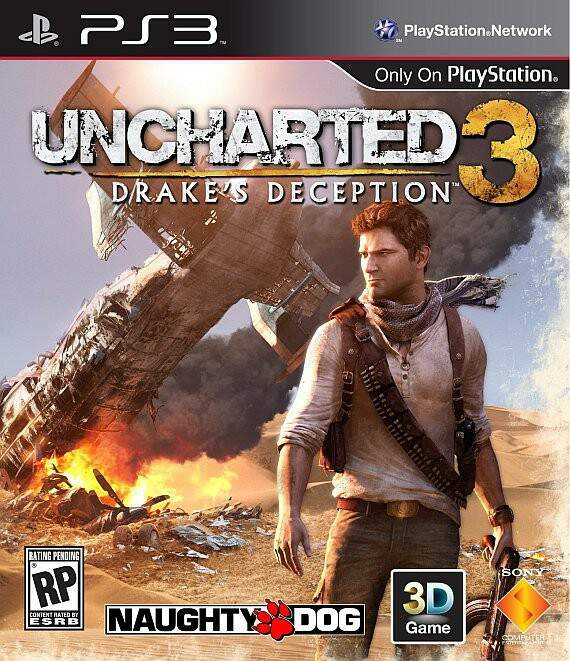 Uncharted 3 - Drake\\\'s Deception - Ps3 (Seminovo)