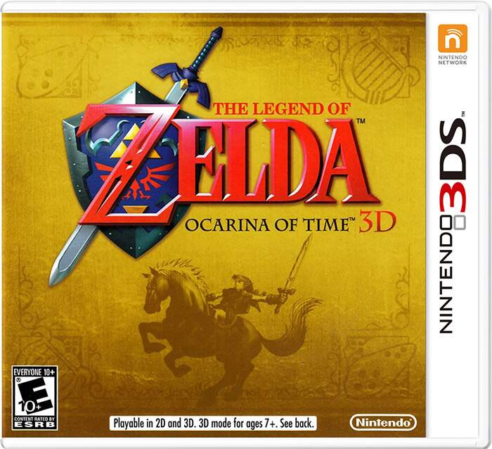 The Legend of Zelda: Ocarina of Time 3D - 3DS