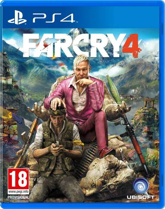 Farcry 4 - Ps4 (Seminovo)