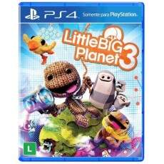 Little Big Planet 3 - Ps4 (Seminovo)