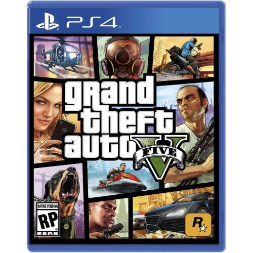 Grand Theft Auto V GTA 5 - Ps4 (Seminovo)