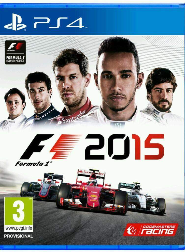 Formula 1 2015 - Ps4 (Seminovo)