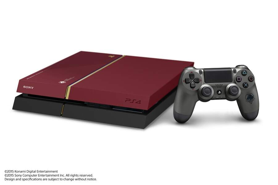 Playstation 4 500GB Bivolt Edição Limitada Metal Gear Solid V: The Phantom Pain