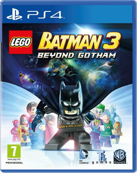 Lego Batman 3: Beyond Gotham - Ps4 (Seminovo)