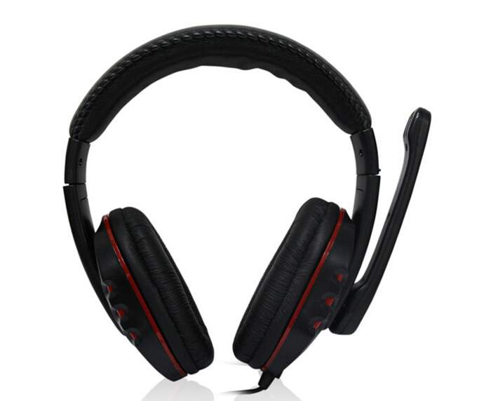 Headset Gamer com fio para Ps4 Ps3 Xbox 360 PC