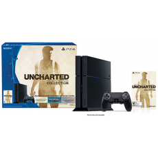 Playstation 4 500GB Bivolt com Uncharted The Nathan Drake Collection
