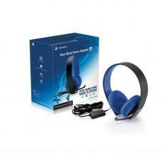 Headset Playstation Silver com fio Stereo 7.1 Ps4 Ps3 Psvita