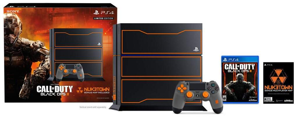 Playstation 4 500GB Bivolt Edição Limitada Call of Duty: Black Ops 3