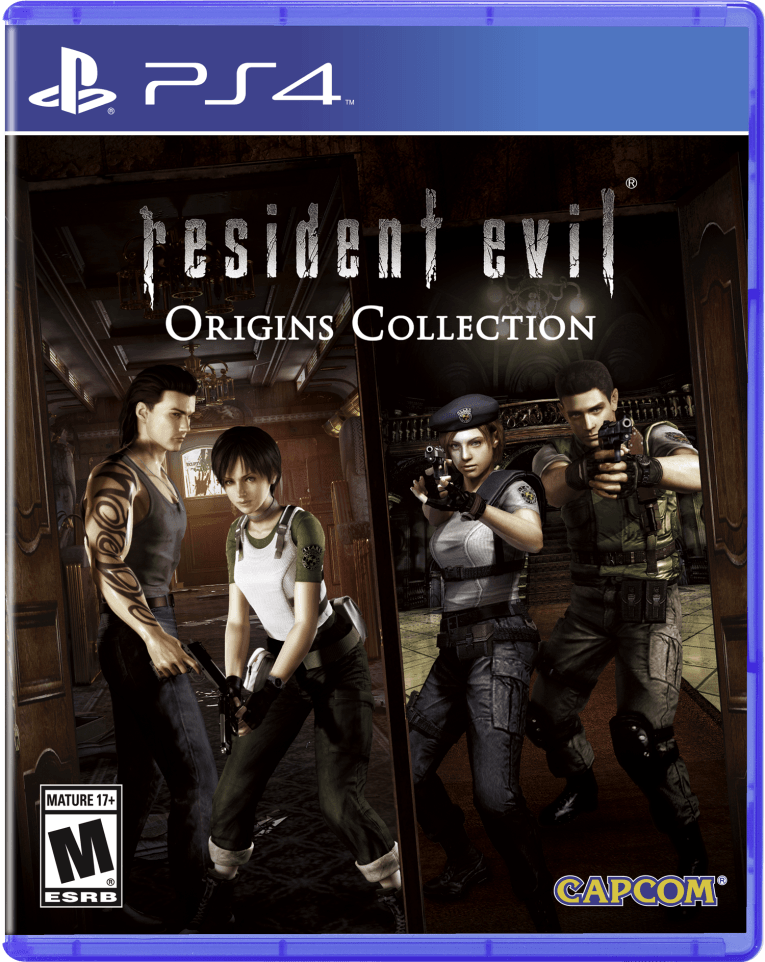 Resident Evil: Origins Conllection - Ps4