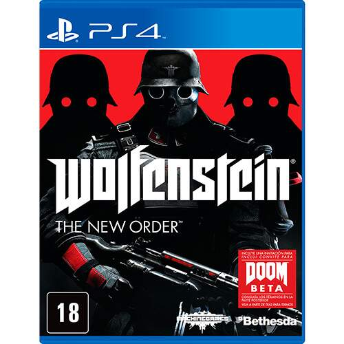 Wolfenstein: The New Order - Ps4 (Seminovo)