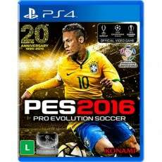 PES 2016: Pro Evolution Soccer - Ps4 (Seminovo)