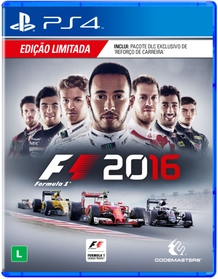 Formula 1 F1 2016 - Ps4 (Seminovo)