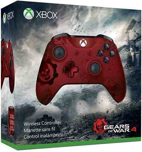 Controle sem fio Gears of War 4 - Xbox One S