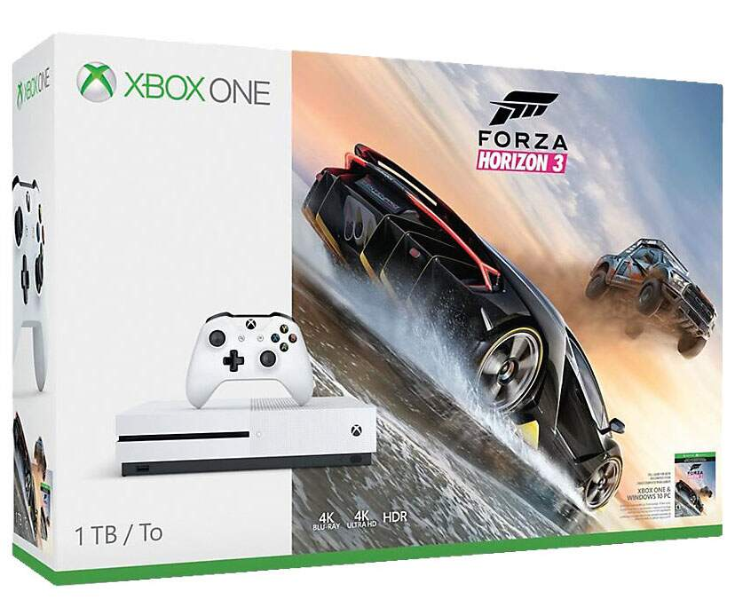 Xbox One S - 500GB Forza Horizon 3