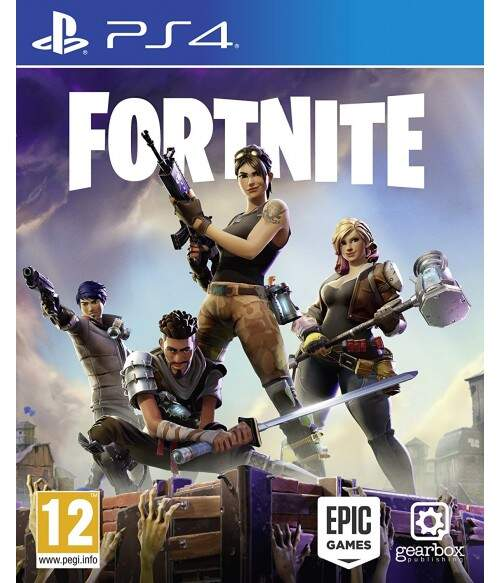 Fortnite - Ps4 (Seminovo)