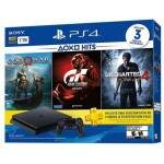 Playstation 4 Slim 1TB Hits Bundle God of War Gran Turismo Uncharted 4