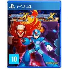 Mega Man X Legacy Collection 1 + 2 - Ps4