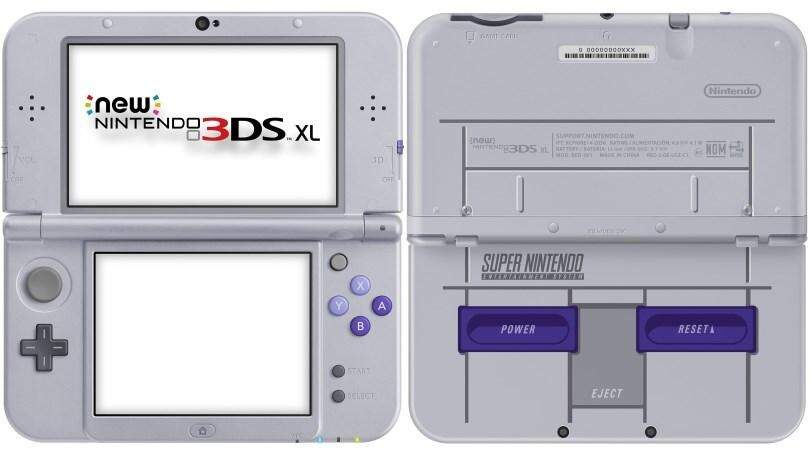 New Nintendo 3DS XL - Super Nintendo Edition