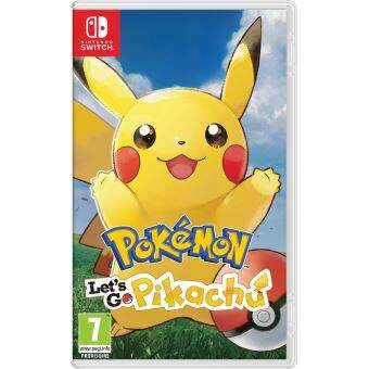 Pokémon: Let´s Go Pikachu - Nintendo Switch