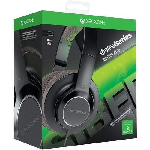 Headset Siberia X100 SteelSeries - Xbox One